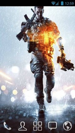 Battlefield 4 by vanko Go Launcher