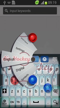 Air Hockey Keyboard