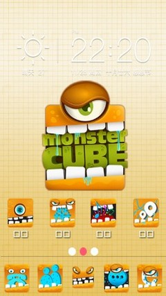 MonsterCube for 360 Launcher