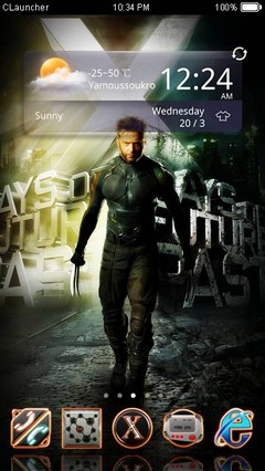 Xman CLauncher Theme