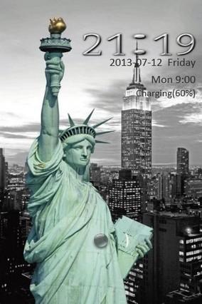Statue of Liberty Go Locker
