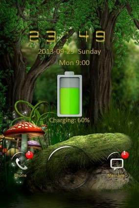 Green Forest Go Locker
