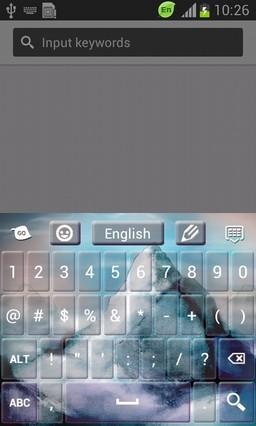 Misty Mountain Keyboard