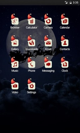 Santa Sail Multi Launcher Theme