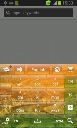 Keyboard for HTC One X+