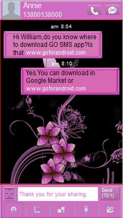gosmspro pinkflowers