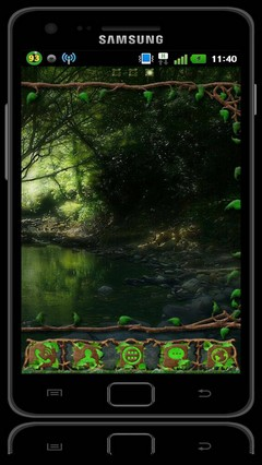Wild Wood GO Launcher EX Theme
