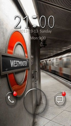 London Underground Go Locker