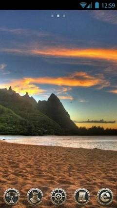 Sunset beach by vanko Go theme