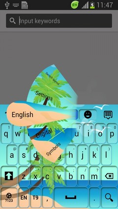 Palm Tree Keyboard