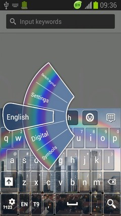 Rainbow City Keyboard