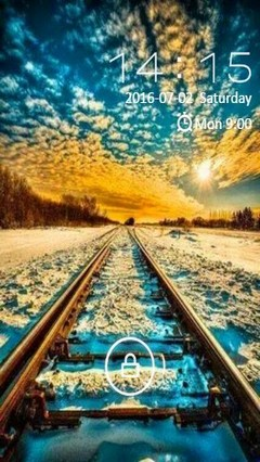 superb railroad view