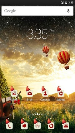 Christmas Magic Multi Launcher Theme
