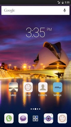 City of art Valencia ADW Launcher Theme