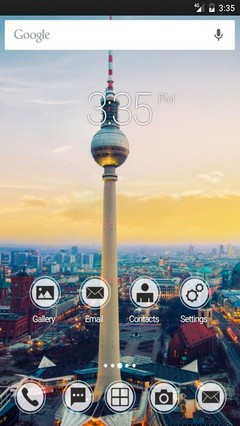 Berlin TV ADW Launcher Theme