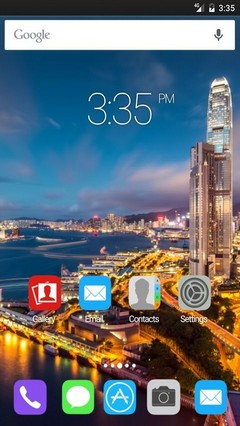 Hong kong harbour Nova Launcher Theme