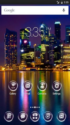 Marina bay singapore GO Launcher Theme