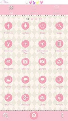 Go Launcher First Love Theme