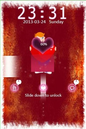 I Love You Go Locker Theme