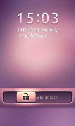 Pink Dream GO Locker Theme