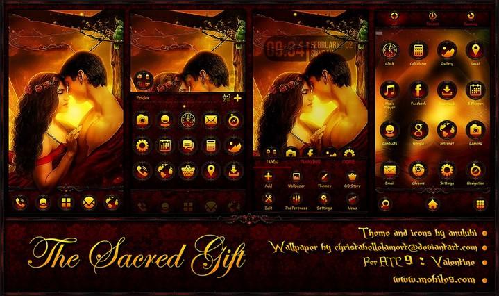The Sacred Gift (ATC 9)