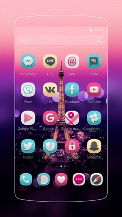 I Love Paris Theme