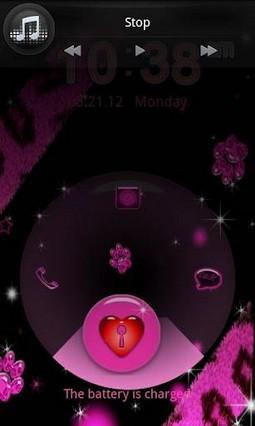 GO LOCKER Pink Leopard theme 2