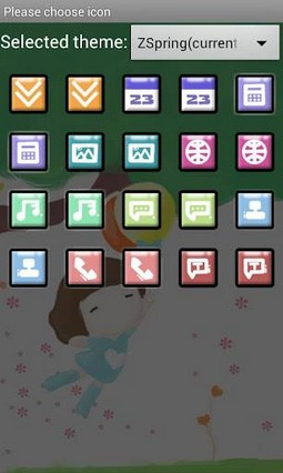ZSpring Theme GO Launcher EX