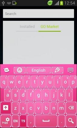 Pinky Valentine Keyboard Skin