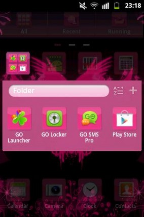 GO Launcher EX Hearts Theme-1