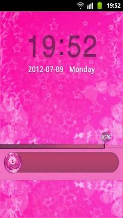 GO Locker Theme Pink Cute Star