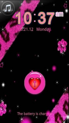 GO LOCKER Pink Leopard theme 2
