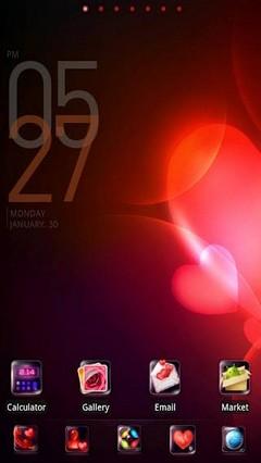 LoveLove go launcher EX theme