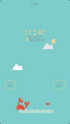 ZRomantic GO Locker Theme