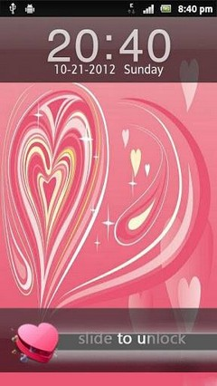 Abstract Heart GoLocker