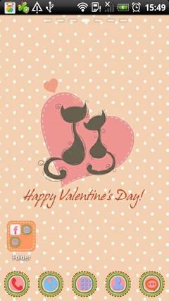 Love Cats Theme Go Launcher Ex