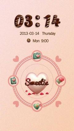 Sweetie GO Locker Theme