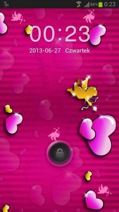 GO Locker Theme lovely pink