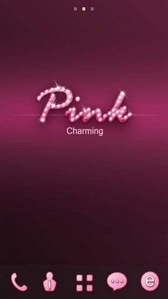 Pink GO Launcher Theme