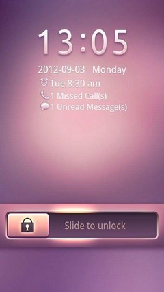 Pink Dream GO Locker Theme