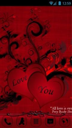 Happy Valentines Day ATC-9