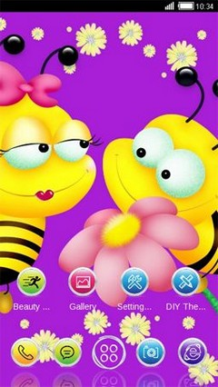 Honeybee In Love