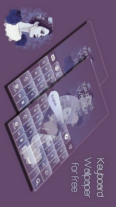 Keyboard Wallpaper for free