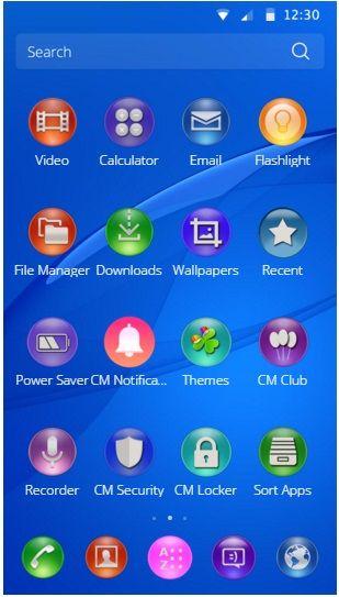 Theme for Sony Z3