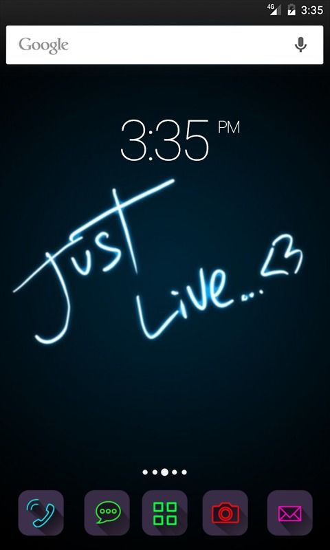 Just live love GO Launcher Theme