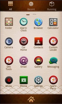 Embroidery GO Launcher theme