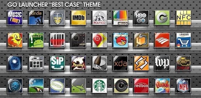 Best Case Go Launcher Theme