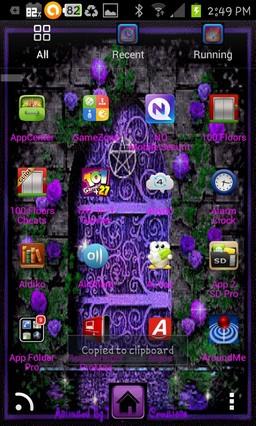 goth purple fairy