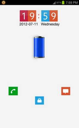 Lumia Lock Go Locker Theme