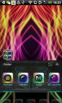 Light Theme GO Launcher EX